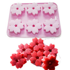Cherry Donut Flower Soap Silicone Mold Mini Bundt Chocolate Cookies Bakeware