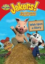 Jakers! The Adventures of Piggley Winks: Wish Upon a Story (DVD, 2014)