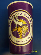 Minnesota Vikings NFL Pro Football Sports Banquet Party Favor 22 oz. Plastic Cup