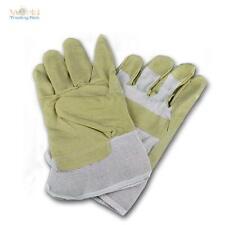 1 Paar Kunstleder Arbeitshandschuhe Arbeitsschutz Größe 10,5 XL Lederhandschuhe