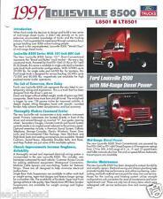 Truck Brochure - Ford - L8501 LT 8501- Lousiville 8500 - 1997 (T1279)