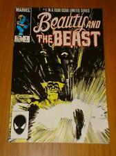 BEAUTY AND THE BEAST #1 COMIC SIGNED ANN NOCENTI + CERT
