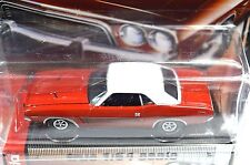 DODGE CHALLENGER RALLYE 1973 RED AUTOWORLD AW64012 1:64 NEW DIECAST MODEL