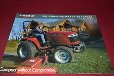 Case International DX Compact Series Tractors Brochure YABE10 ver8