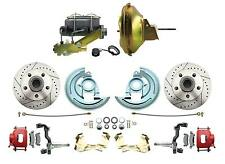 1964-1972 GM, A, F, X  Body Performance Disc Brake Kit, Red PC Calipers (GM-224)