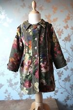 Jottumcoat/manteau/Jacke/jas flowers size 104/4 yrs winter good condition
