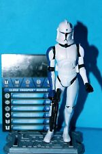 STAR WARS 2012 CLONE WARS CLONE TROOPER REDEYE TOYS R US EXCLUSIVE LOOSE