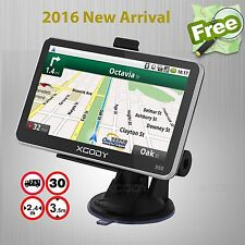 "XGODY 5"" Car Truck GPS Navigation Navigator SAT NAV 8GB Display Free Maps POI"