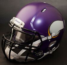 *CUSTOM* MINNESOTA VIKINGS NFL Riddell SPEED Full Size Replica Football Helmet