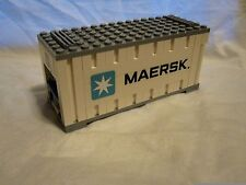 Lego Train City Creator Maersk White Container 10219/10233/10194 Mint