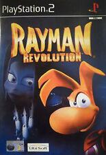 Rayman Revolution Sony Playstation 2 PS2 PAL PLATINUM VER