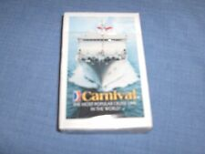 #1101 - CARNIVAL CRUISE SHIPS PLAYING CARDS - IN BOX