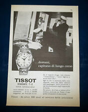 A070-Advertising Pubblicità-1959-TISSOT VISODATE T12 SUPER IMPERMEABILE
