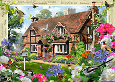 19413 RAVENSBURGER COUNTRY COTTAGE COLLECTION - PEONY 1000PC [JIGSAW PUZZLE]