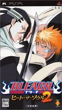 Used PSP Bleach: Heat the Soul 2  Japan Import ((Free shipping))、