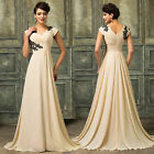 CHEAP Long Chiffon Evening Party Formal Wedding Ball Gown Prom Bridesmaid Dress
