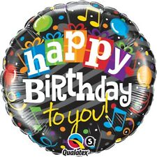 """BALLOON QUALATEX 1 PC 18"""" HAPPY BIRTHDAY TO YOU PARTIES DECORATIONS KIDS"""