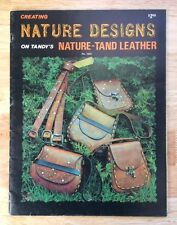 "Vintage Leather Craft Tandy's ""Creating Nature Designs"" 1973 Instructional Book"