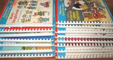 Fisher Price Talk To Me Books Disney Muppets Looney Tunes Seuss Pooh Vtg Lot 15