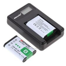 2x Batteries + USB Charger NP-BX1 for Sony NP-BX1 RX1 RX1R RX100 Ⅱ DSC -WX300