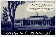 """""""Go to Dutchland"""" Grade A ICE CREAM Springfield MA Thompsonville CT Advertising"""