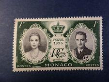 MONACO 1956 timbre 473, Prince Rainier et Grace, neuf**