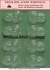Frog Chocolate Candy Mold - 3 Count
