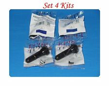 4 Kits TPMS Tire Pressure Monitoring System Snap In Tire Valve Stems