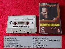 MC Harry Belafonte - Songs 1 (Japan) - Musikkassette Cassette