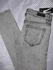 LIP SERVICE 4 Pocket Womens Jr Skinny Jeans Size Fit Jet Regukar Rise Slim Sz 3