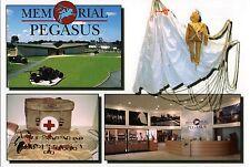 CP WW2 - Memorial Pegasus de Ranville-Bénouville - poupée-parachutiste leurre