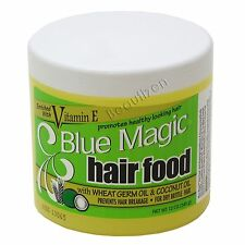 Blue Magic HAIR FOOD Vitamin E w/ Wheat Germ Oil & Coconut Oil 12 oz