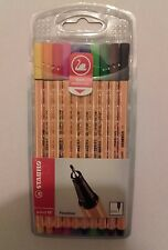 STABILO Point 88 Fineliner penne colorate astuccio Pack Set 10 Colori Punta 0.4mm