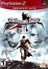 Soul Calibur 3 PS2 New Playstation 2