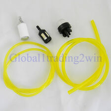 Fuel Line Filter and Snap Primer Bulb for Mcculloch Chainsaws 3214 3216 3516