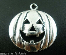 Collana con ZUCCA HALLOWEEN in Argento Tibetano Nichel Free mm 24x25 Charms