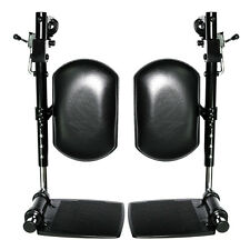 Elevating Leg Rests with Calf Pad for Jazzy,Jet Quantum  Power Chairs (Set of 2)