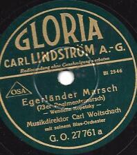 Blasorchester Carl Woitschach 1939 : Egerländer Marsch + Deutschmeister Regiment