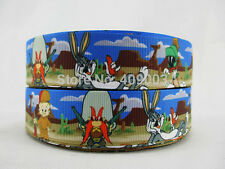 "Bugs Bunny/Daffy Duck/Marvin the Martian 1"" Wide 1m is only £0.99 NEW UK SELLER"