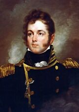 New 5x7 Photo: U.S. Navy Commodore Oliver Hazard Perry, Battle of Lake Erie