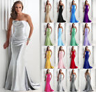 Strapless Ball Gown Party Prom Bridesmaid Dresses Evening Dress Size 6+++++18