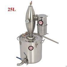 25L 6.6Gal Alcohol Distiller Home Brew Kit Wine Boiler  Moonshine distillation