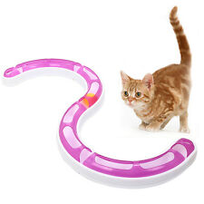 Pet Cat Kitten Funny Track Balls Tunnel Toys Circuit Chase Game Orbit Game Play