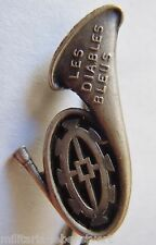 Insigne boutonnière LES  DIABLES BLEUS COLMAR CHASSEURS ALPINS/A PIED 1939 WWII