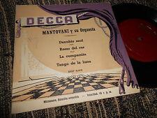 """MANTOVANI Danubio Azul/Rosas del sur +2 EP 45 7"""" 195? SPAIN"""