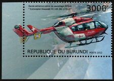 MBB/KAWASAKI BK-117 REGA Swiss Air Ambulance Helicopter EC145 Aircraft Stamp #2