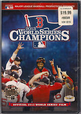 MLB: 2013 World Series Champions (New DVD, 2013) Boston Red Sox, baseball