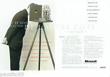 PUBLICITE ADVERTISING 096  1994  Microsoft   les micro- ordinateurs (2p)