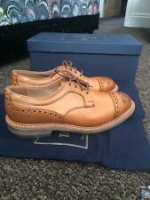 Trickers NEW Derby Tan Shoe. U.K. 7