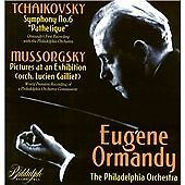 "Tchaikovsky: Symphony No. 6 ""Pathetique""; Modest Mussorgsky: Pictures at an Exh"